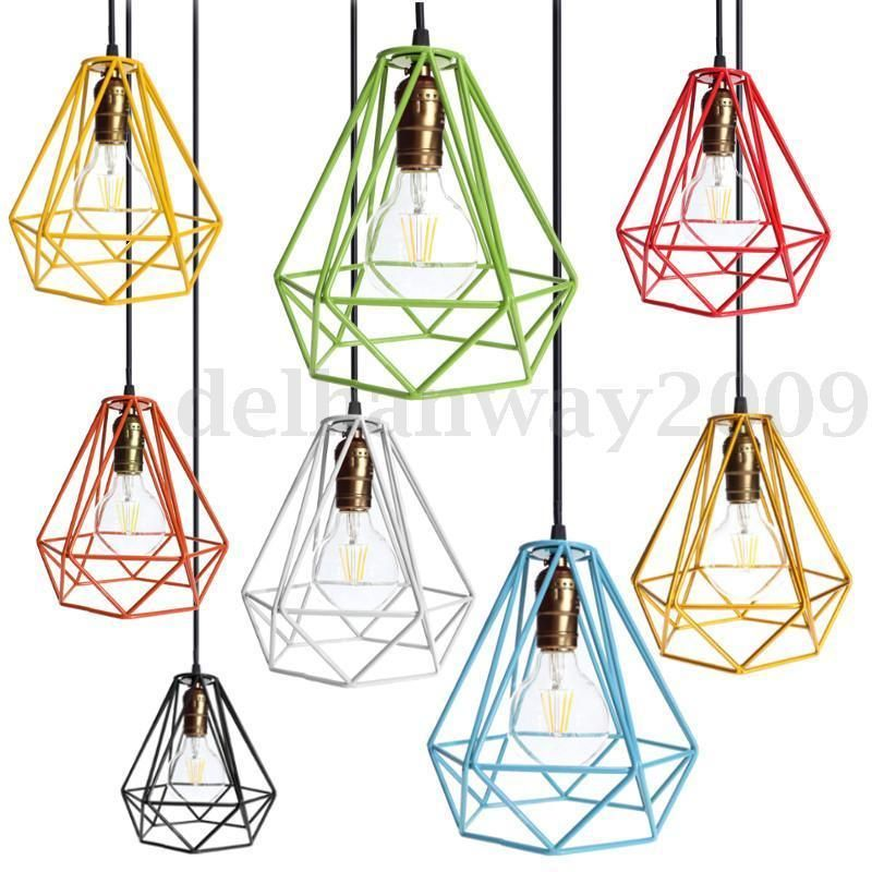Modern industrial style metal wire frame ceiling light lamp shade william modern industrial style metal wire frame ceiling light lamp shade squirrel cage greentooth Image collections