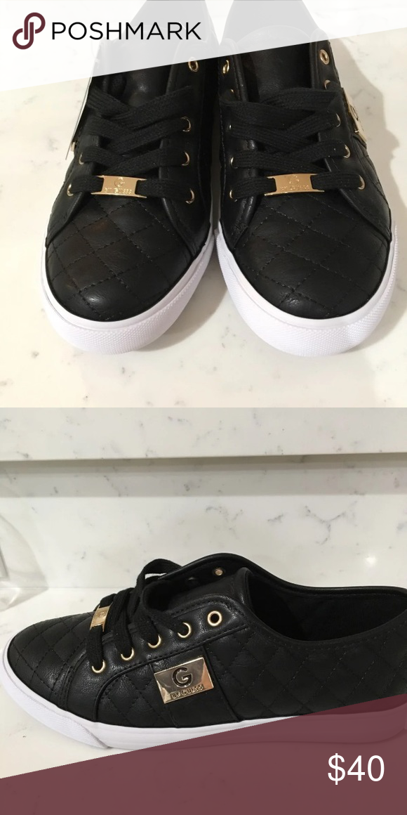 Guess Guess. Quilted Sneakers, size 7.5