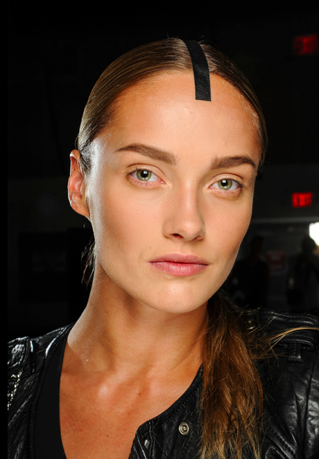 Best brows at Alexander Wang