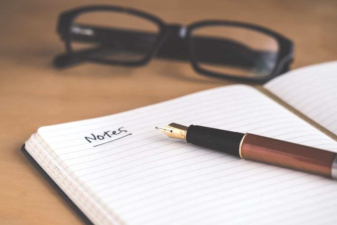 Download this free HD photo of notebook, ink pen, notepad and page ...