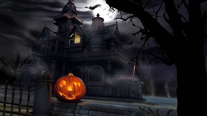 Halloween Wallpaper Hd 1920x1080 With Images Halloween Desktop