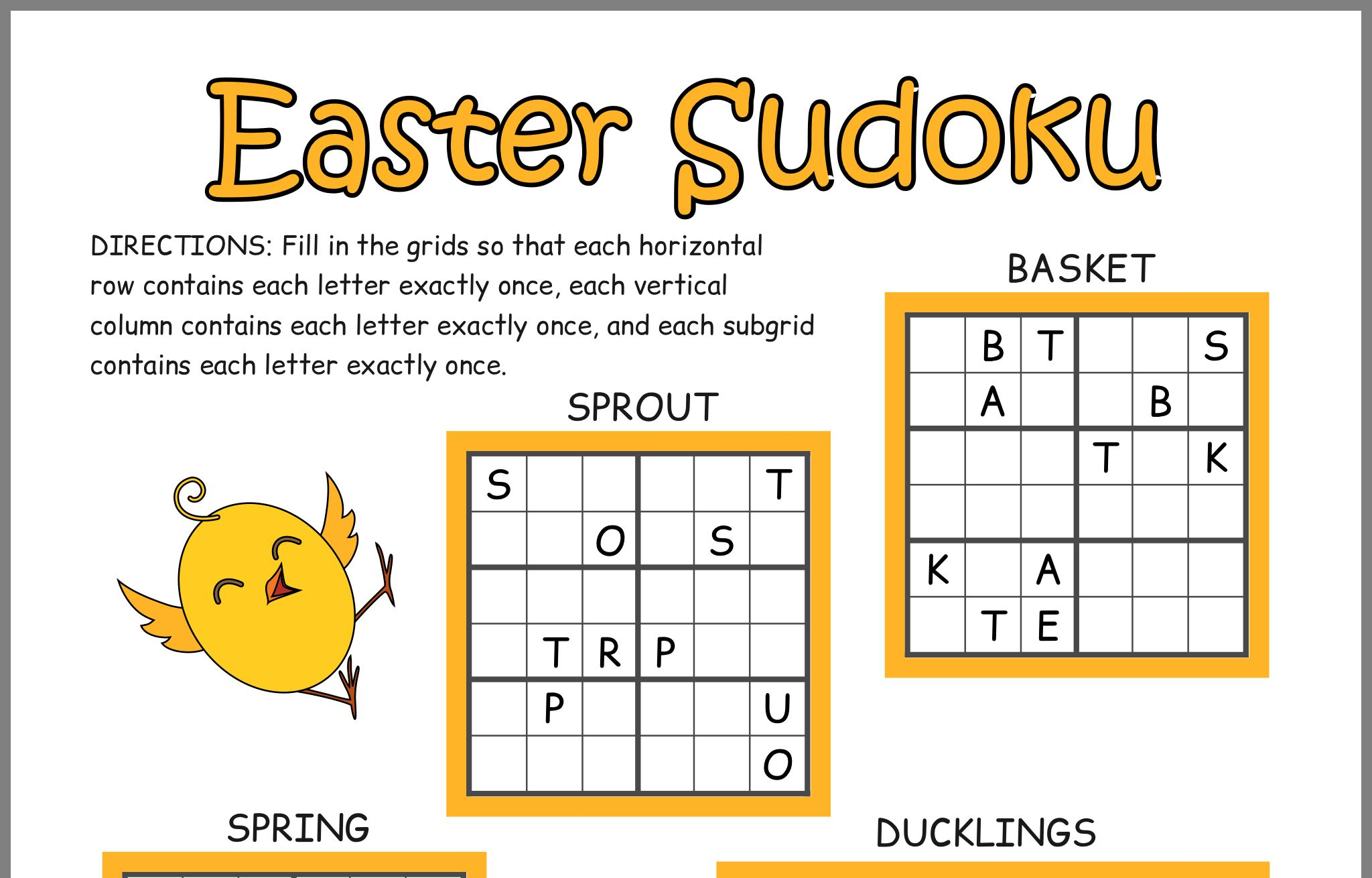 Pin by Anne McMullan on Easter Easter puzzles, Lettering