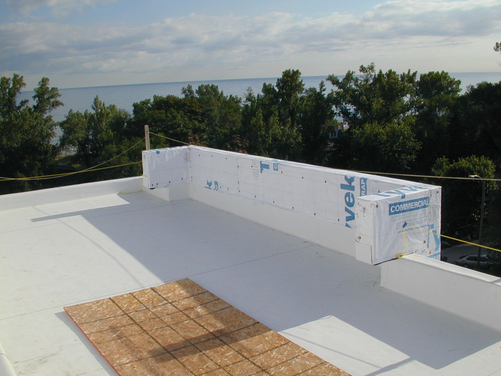 A view over Lake Michigan. No wonder the homeowner chose such a beautiful location. http://leecompanies.net/
