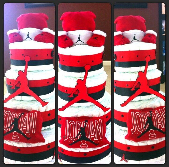 Air Jordan Baby Cake Ideas And Designs