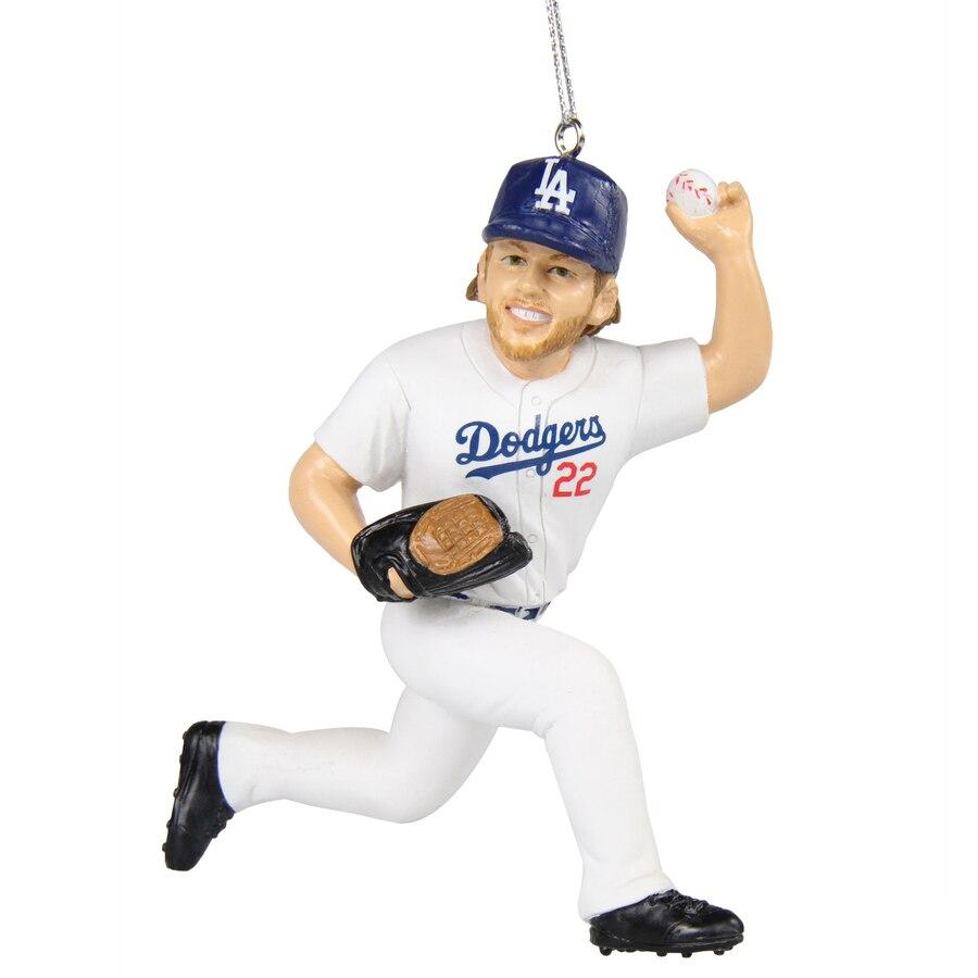 Los Angeles Dodgers Clayton Kershaw Player Resin Ornament Dodgers Baseball Dodgers Los Angeles Dodgers