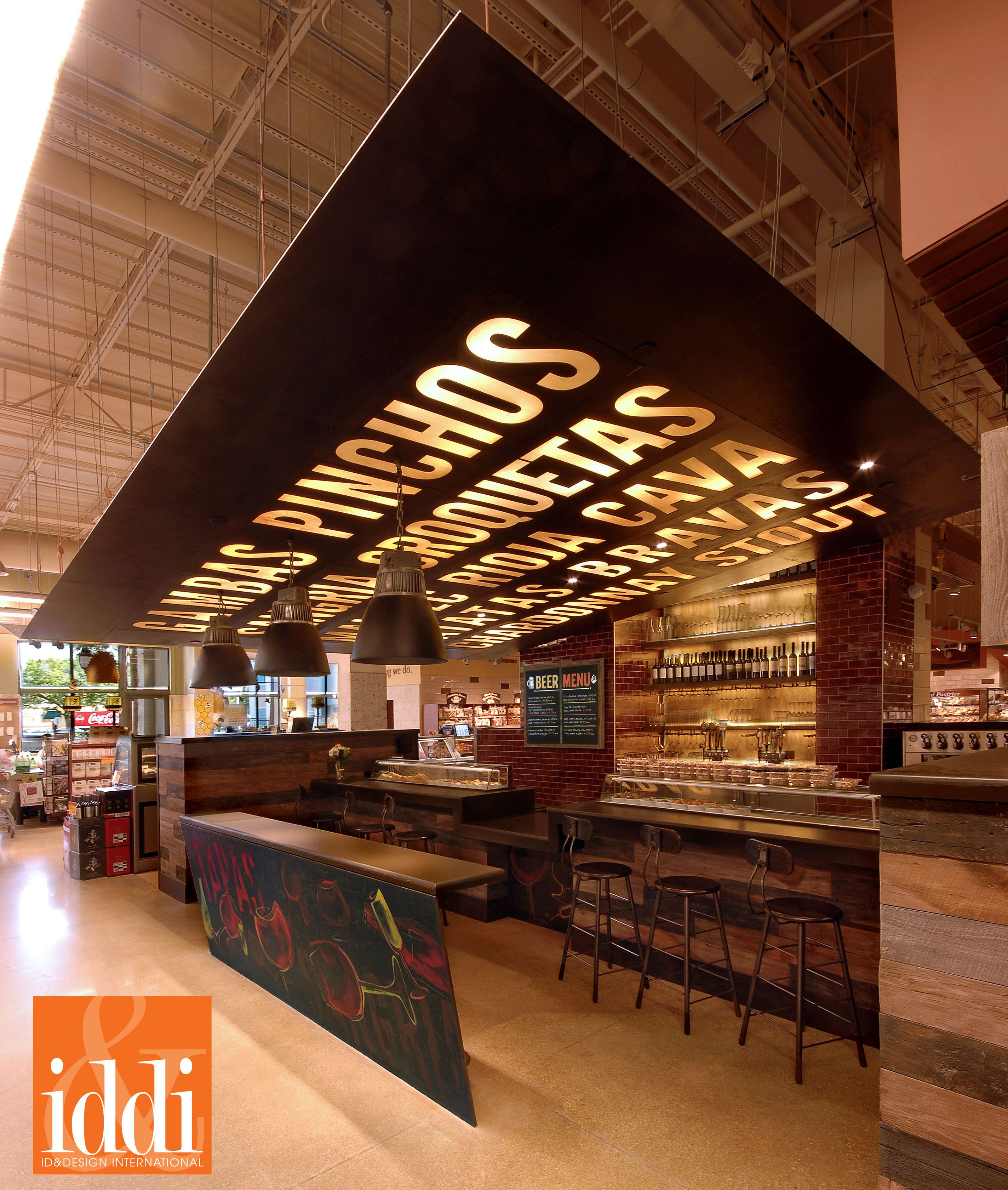 Whole Foods Market C Gables Florida Wine And Tapas Bar Designed By Id Design International