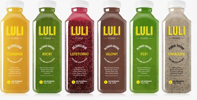 Life is better blended! LuliTonix Raw Green Smoothies \ Elixirs   - fresh blueprint cleanse hpp
