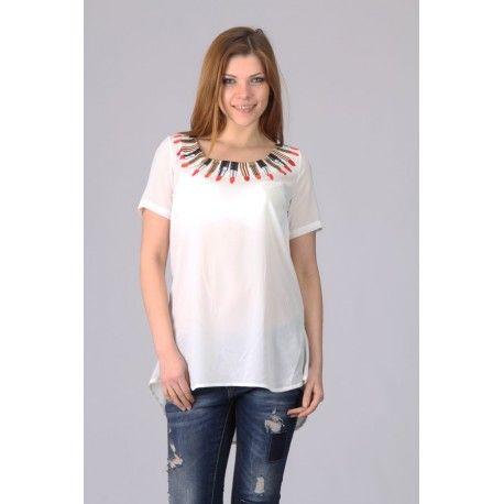 Marisis Beyaz Kadin Bluz Kadin Kadin Giyim Moda Stilleri