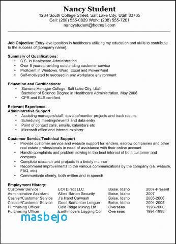 74 Luxury Gallery Of Resume Examples For Security Guard No