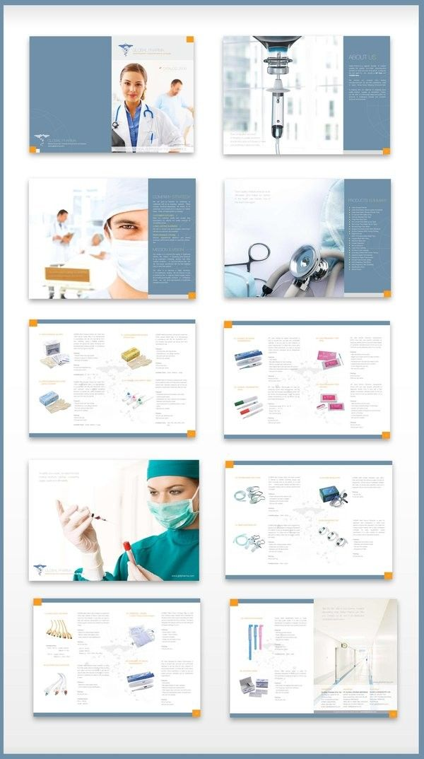 booklet design inspiration  Clean and simple #brochure for a
