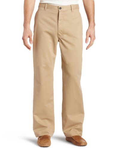 Haggar Mens Renew Chino Plain Front Casual Pant $29.99