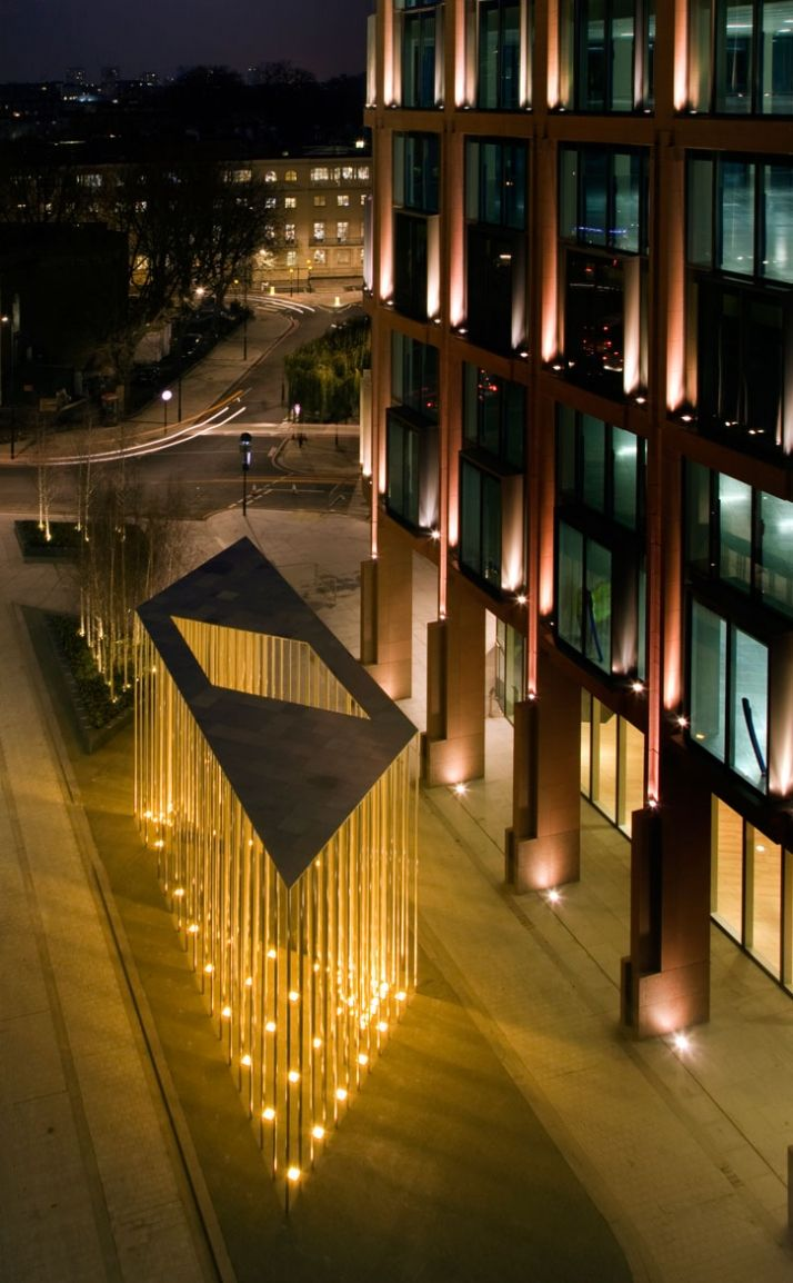 A Forest Of Gold By Carmody Groarke Architectural Lighting