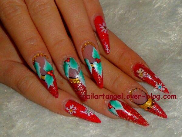 Nail Art Polish Noel Christmas Nailartangelover Blog Nail Art