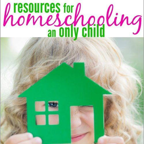 Resources For Homeschooling An Only Child