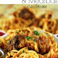 Recipe Submitted By: Spend with Pennies Click on the link below for the Baked Spaghetti Meatball Casserole Recipe!  Baked Spaghetti Meatball Casserole