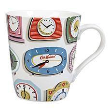 Clocks White Stanley Mug