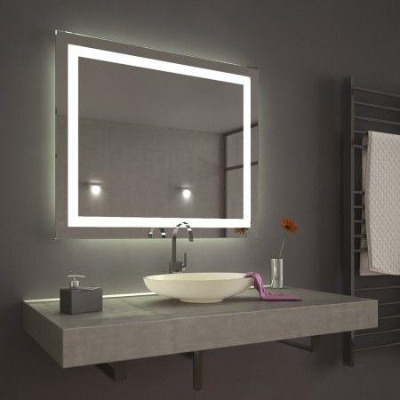 Wandspiegel Led Inside Bathroom Spiegel Badspiegel Led Badezimmer
