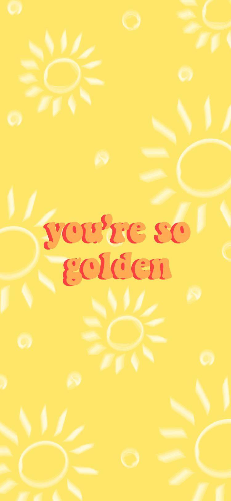 Golden Harry Styles In 2020 Style Lyrics Aesthetic Iphone Wallpaper Unicorn Wallpaper