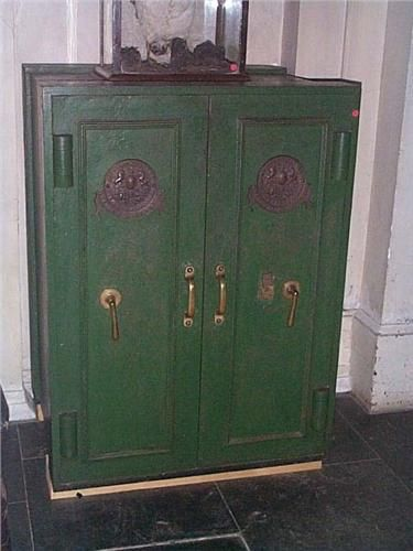 Victorian Safe Milners Large Double Door Safe Antique Safe