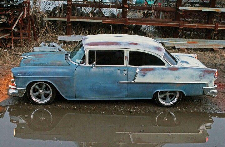 55 Chevy custom rat rod