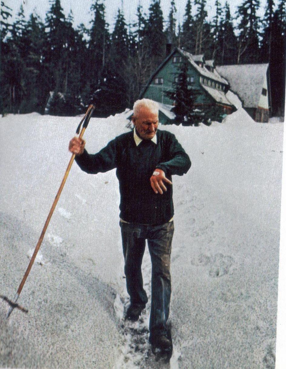 Harry R Truman | Harry R Truman Of Mt St. Helens | Mountains