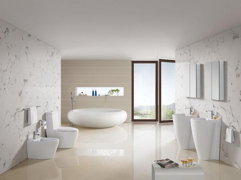 White Bathroom Paint White Bathroom Pinterest White bathroom