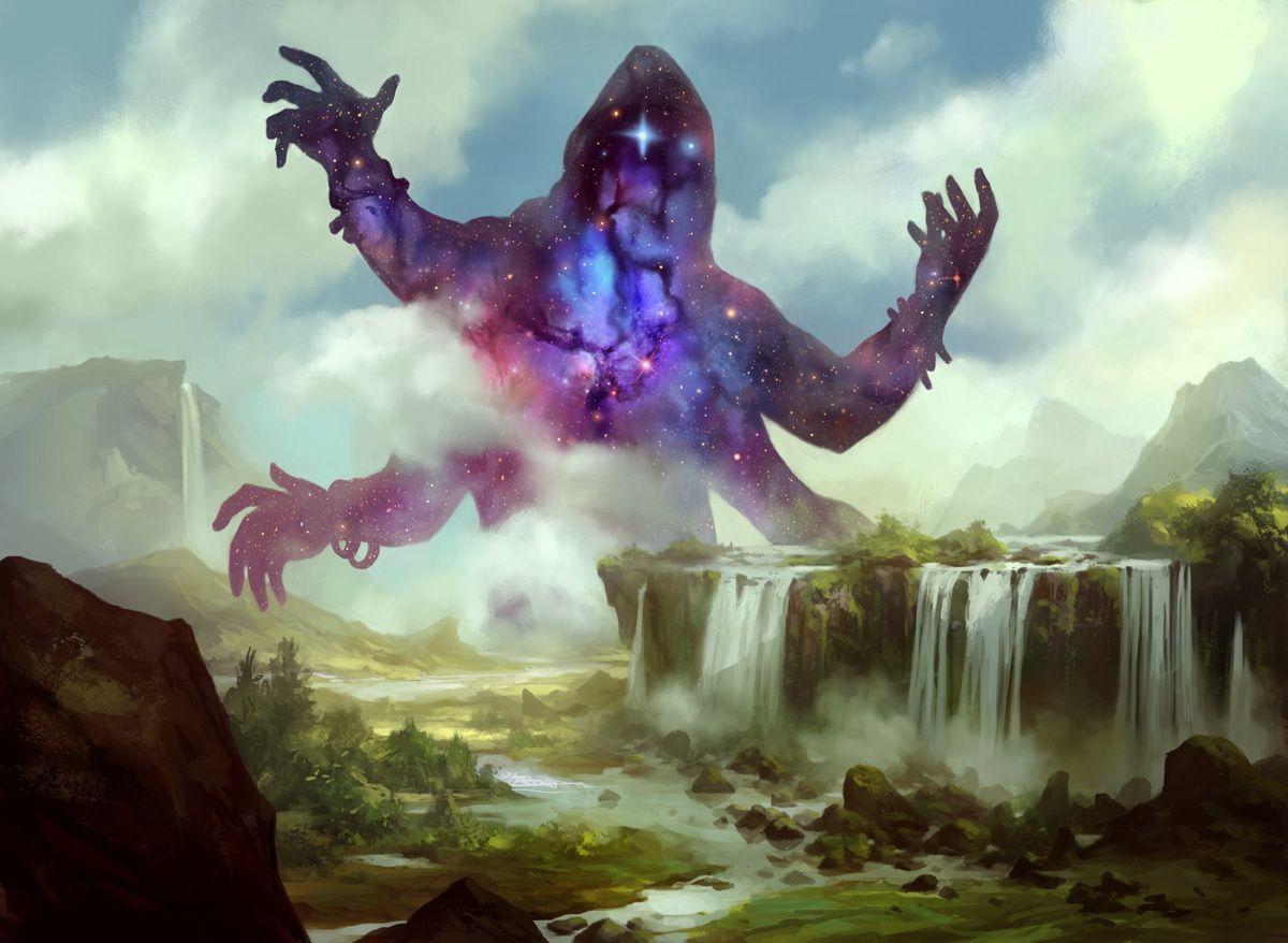 Image result for kruphix god of horizons art mtg