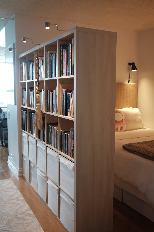 New Room Divider For Loft 2x Ikea Kallax Shelving Unit  # Kallax Separateur Piece