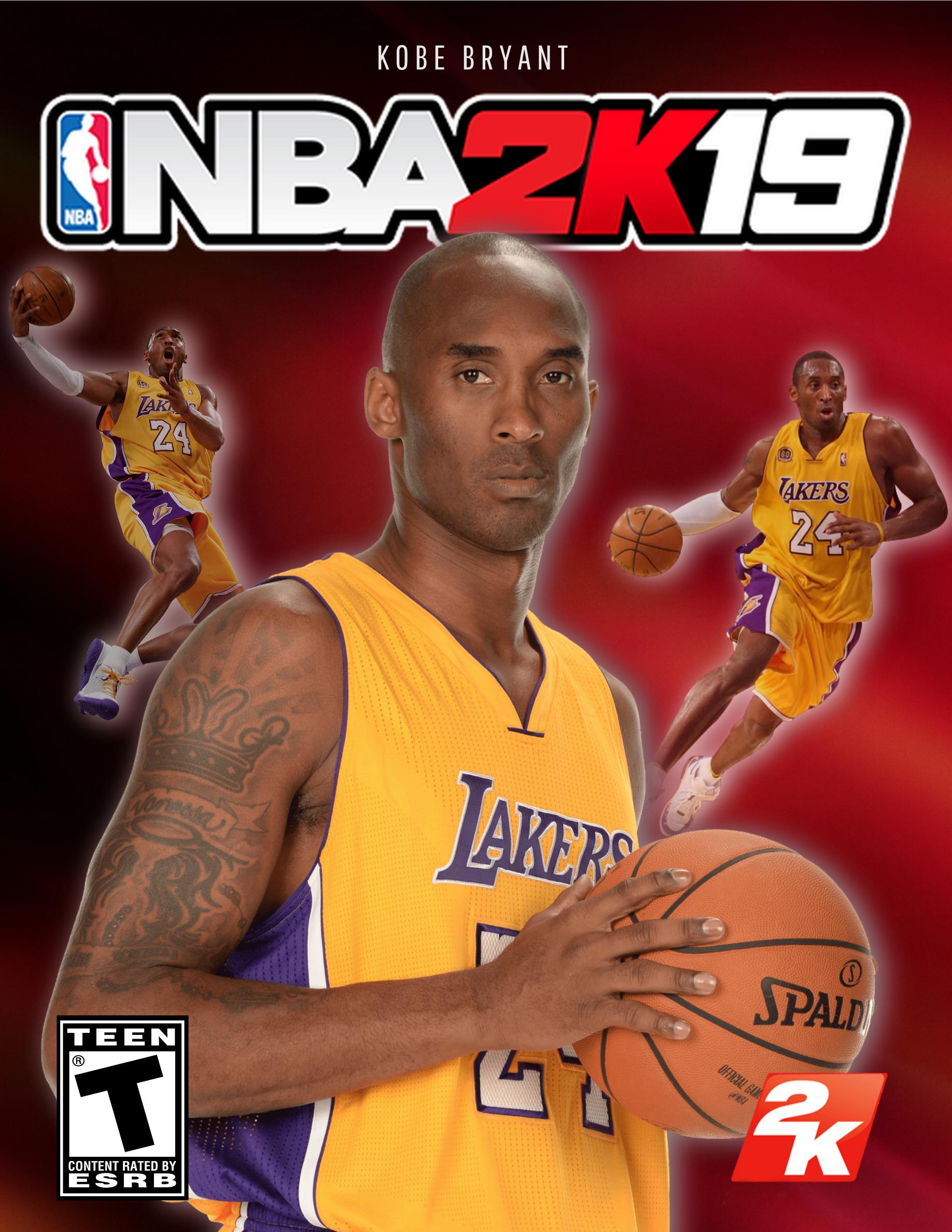 5f77cb178 NBA 2K19 Cover Star Kobe Bryant