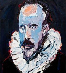 #portrait #aesthetic #contemporaryart #art #painting #modernart #work