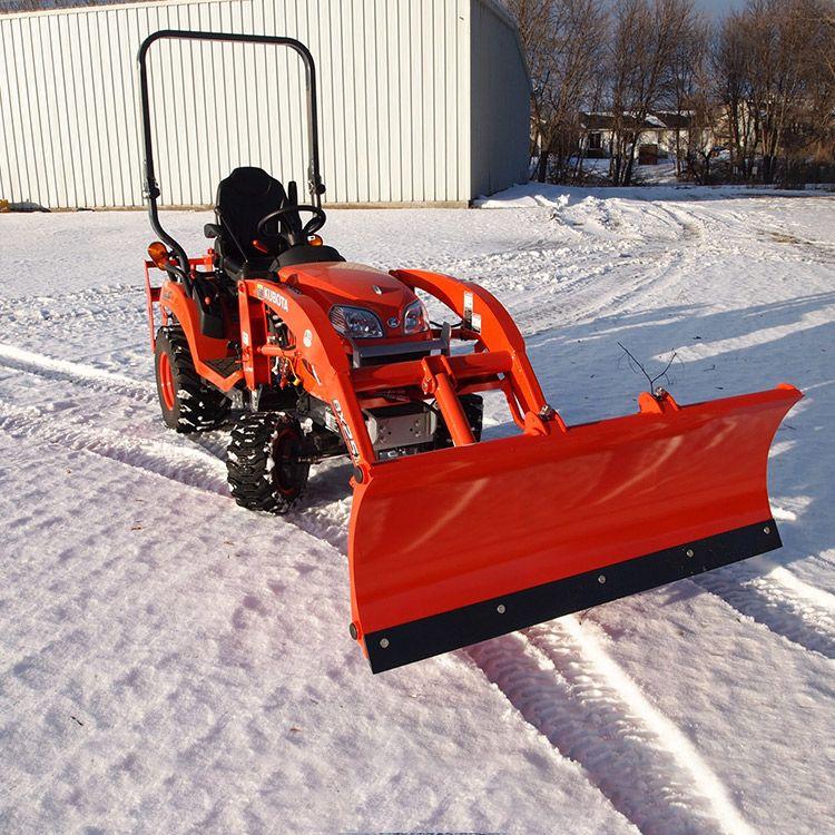 Snowplow Attachment For Kubota Bx Series Tractors Snow Plow Kubota Tractor Idea