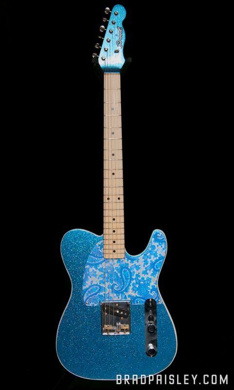 I want this guitar!! Brad Paisley Custom Fender Telecaster