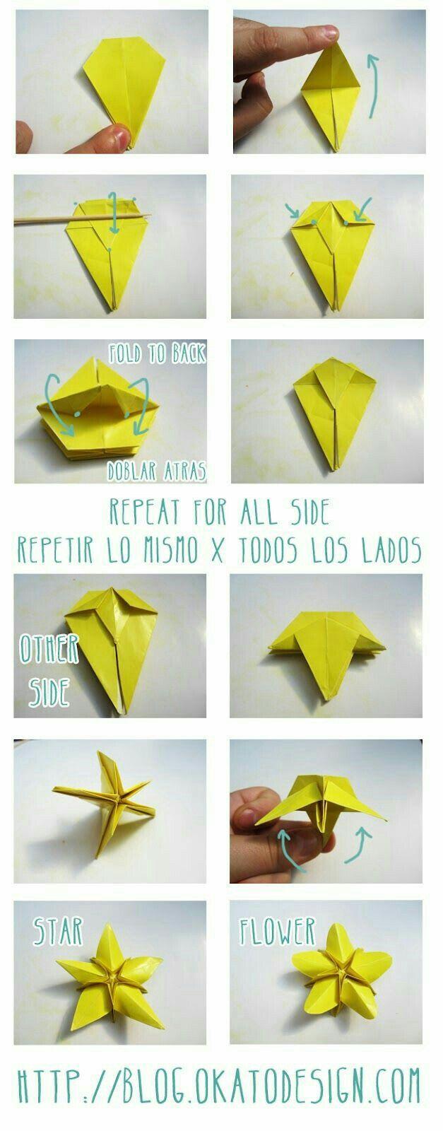 Pin By Zusannas Craft On Wonderful One Sheet Origami Pinterest