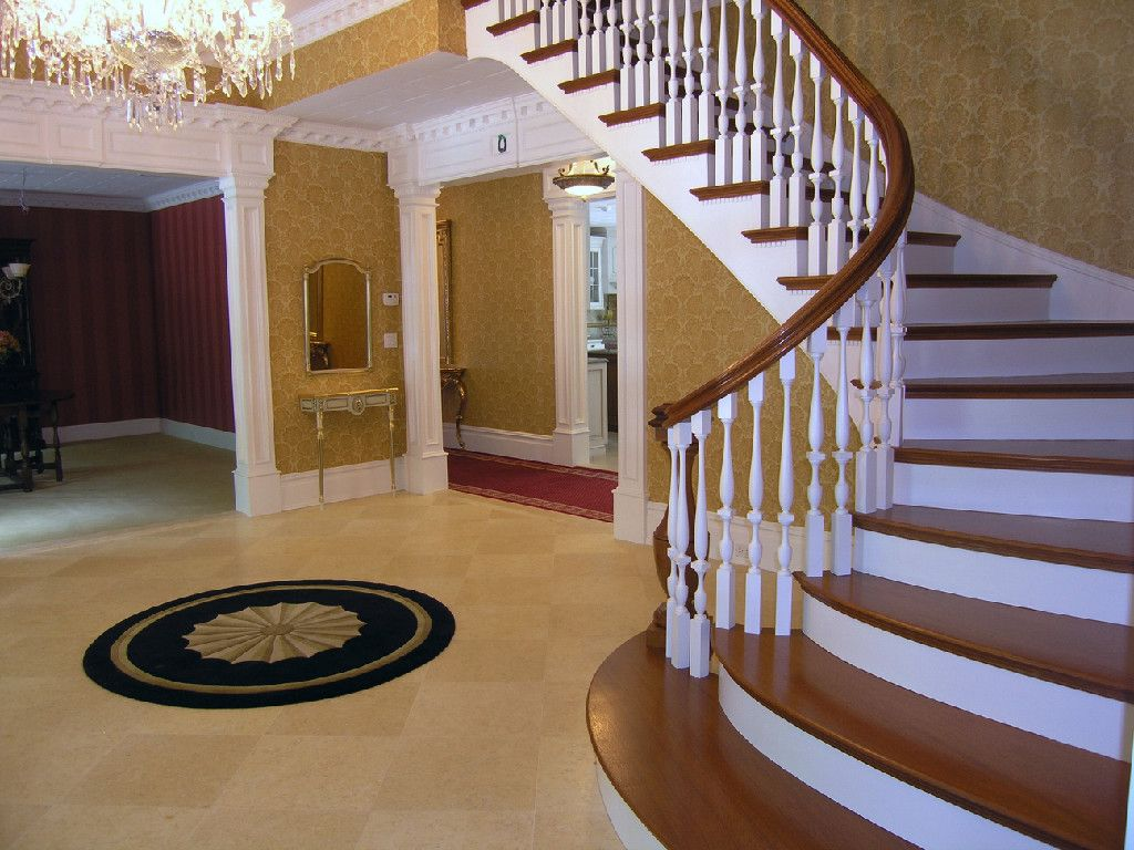 Stair Builders NY New York Stairbuilders NYC Curved Stairs Hand Railings  Elliptical Stairs Spiral Stairs