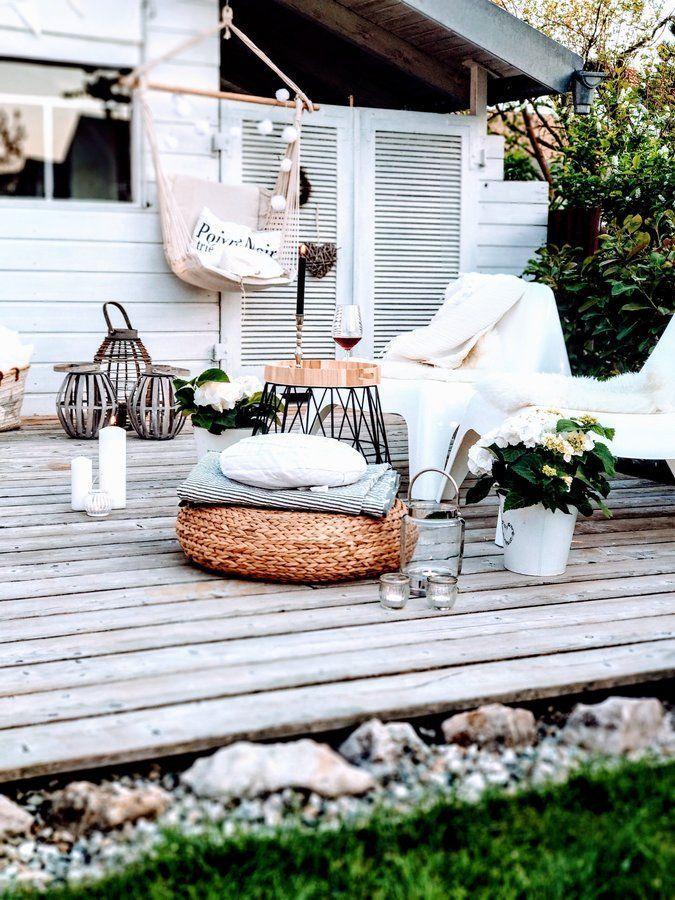Summerfeeling 🌿☀️💮🌺🌸 Gartengestaltung ideen, Terrassen