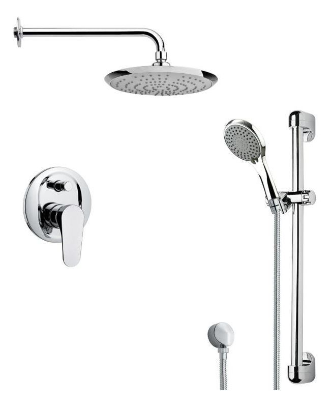 Nameeks SFR7163 Remer 2.5 GPM Multi Function Rain Shower with ...