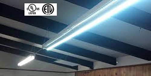 8 Foot Neilite Led Replacement Bulb For Fluorescent Fixtures Led Replacement Bulbs Shop Light Fixtures Led Shop Lights