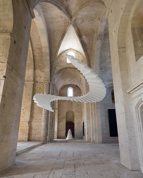 Beautiful Steps Arles Abbaye De Montmajour 2013 Installation Art Architecture Big Art