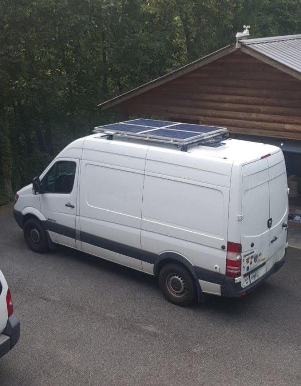 Sprinter VAN Conversion DIY Solar Motorhome