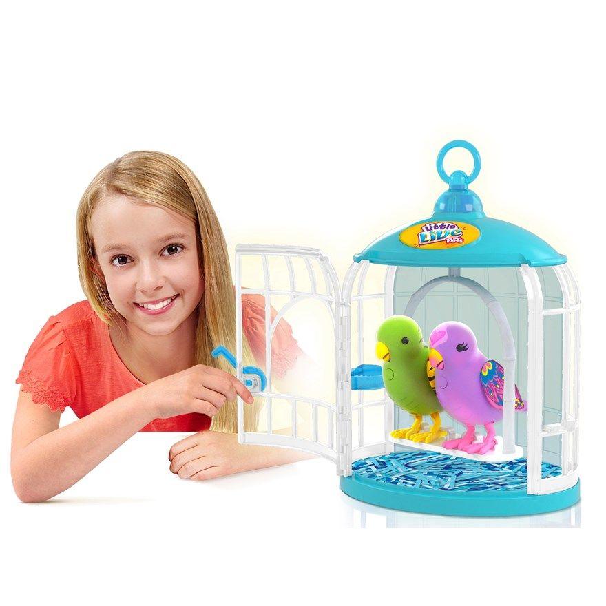 Little Live Pets Bird Cage Little Live Pets Pet Bird Cage Top Christmas Toys