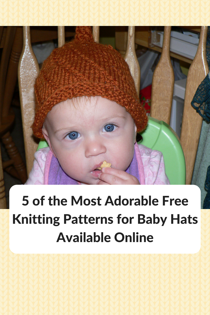 5 Of The Most Adorable Free Baby Hat Knitting Patterns Available