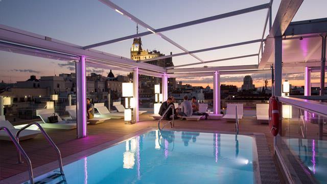 Rooftop Bar La Terraza Del Oscar In Madrid Madrid Oscar