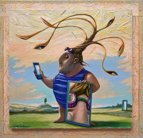EL SELFIE - ( enmarcado) | Surrealism / Fantastic Realism ...