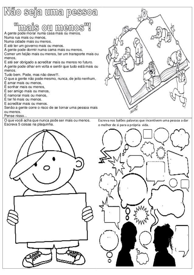 Atividades Para Os Primeiros Dias De Aulas Aulas Educacao