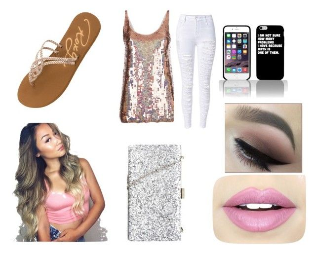 """""""night out with the girls"""" by skyeacker9 on Polyvore featuring STELLA McCARTNEY, Roxy and Fiebiger"""