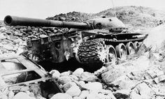 A Russian T-62 Commando tank destroyed in the Panjshir River Valley in Parwan Valley about 180 km north of Kabul, on February 25, 1981. Pin by Paolo Marzioli