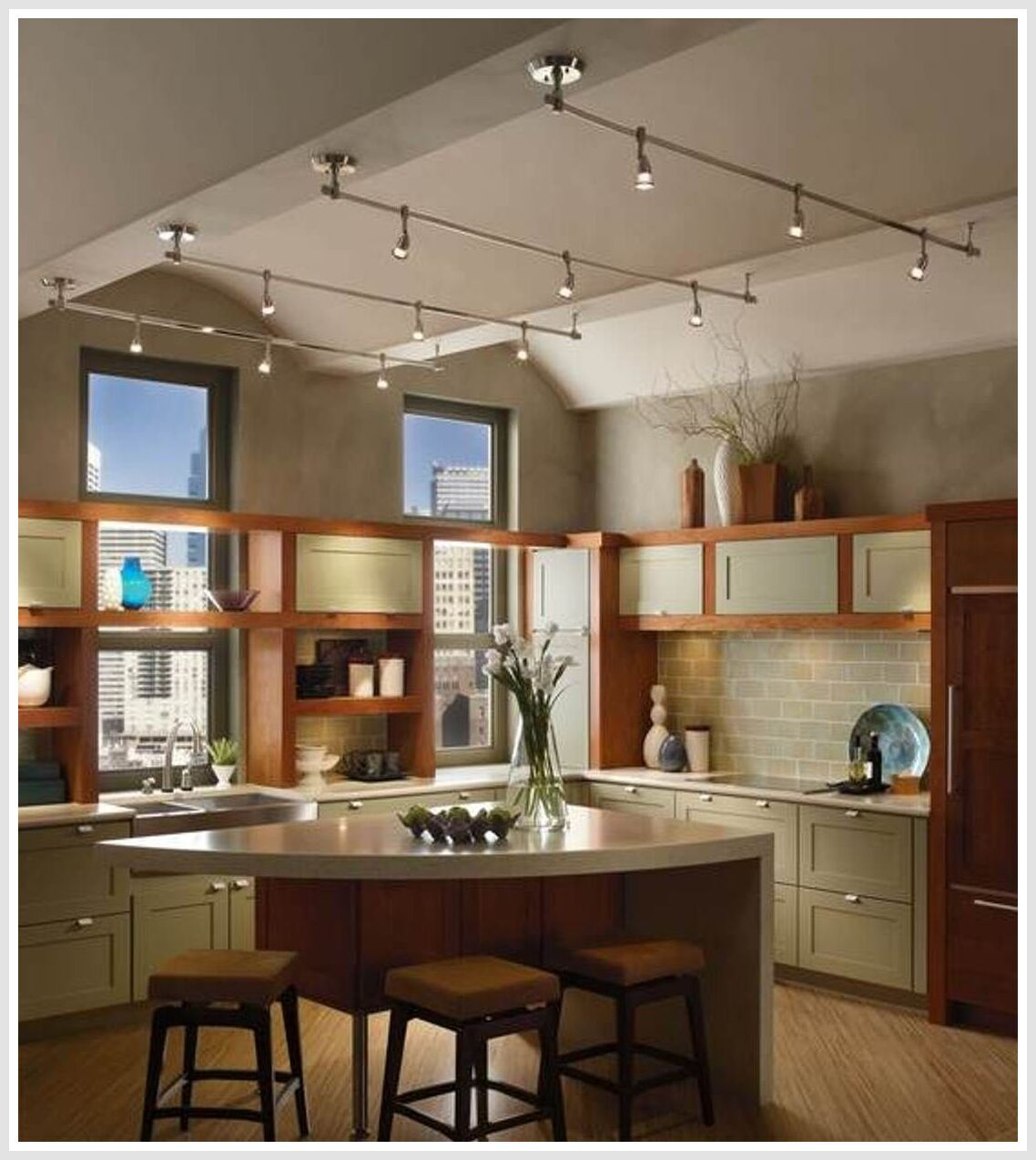 127 Reference Of Industrial Style Kitchen Island Lighting Uk In 2020 Track Lighting Kitchen Kitchen Ceiling Lights Industrial Style Kitchen