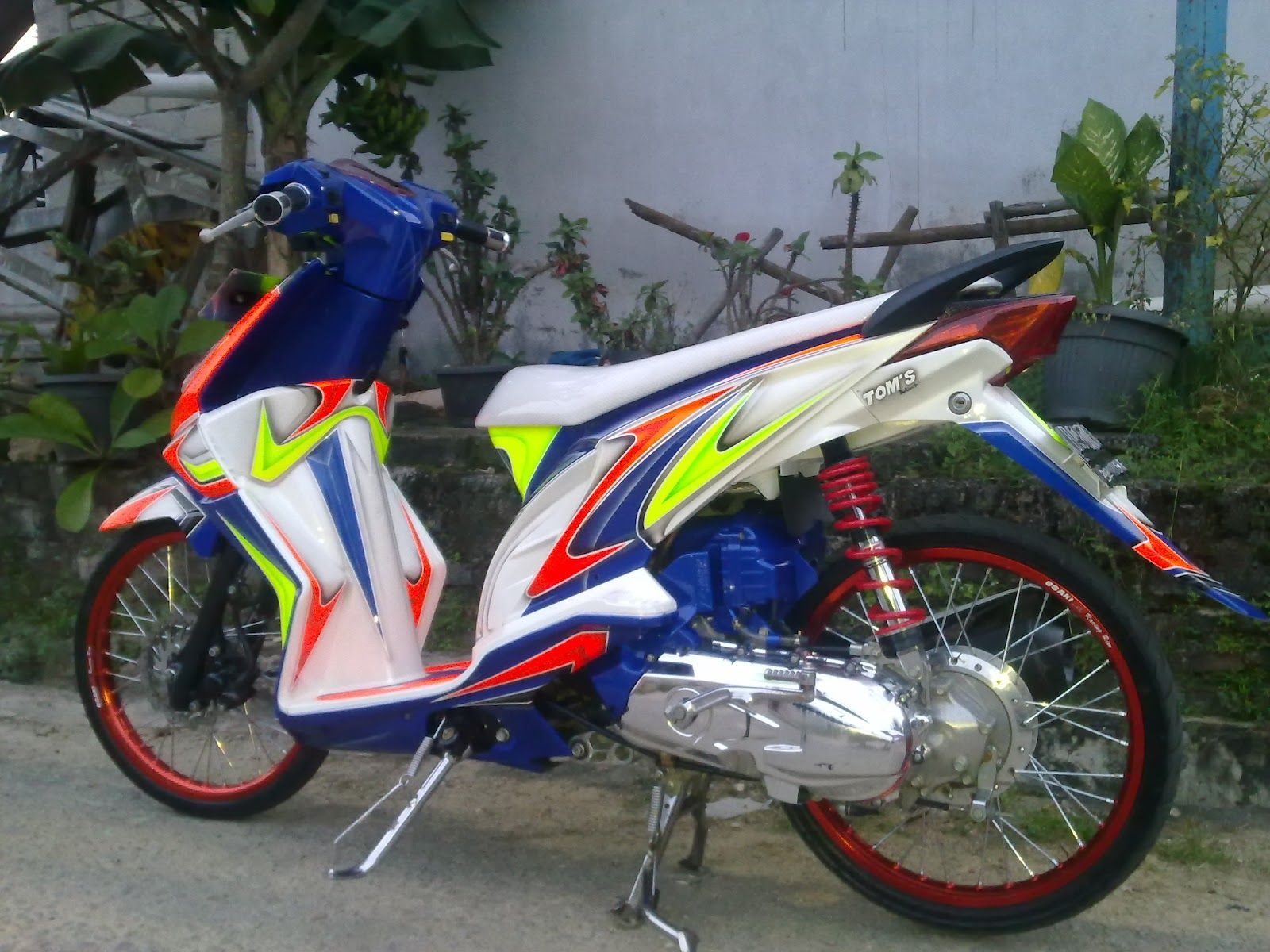 referensi modifikasi motor beat