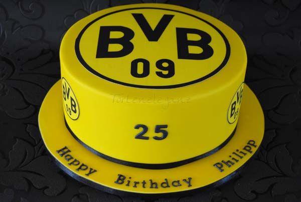 Bvb 09 Geburtstags Torte Bvb Torte Fussball Torte Und Coole Torten