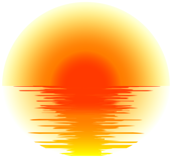 Sunset Effect Png Transparent Clip Art In 2021 Sunset Canvas Painting Clip Art Beach Tattoo